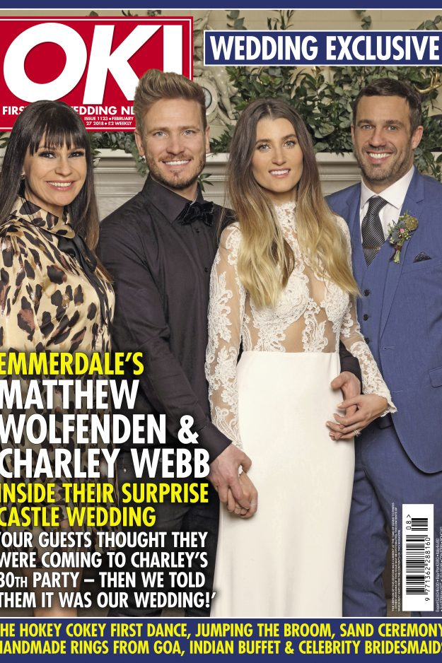 Charleys 30th birthday celebrations turned into a surprise wedding we had a great time playing host to charley webb and matthew wolfendens surprise wedding this february junglespirit Image collections